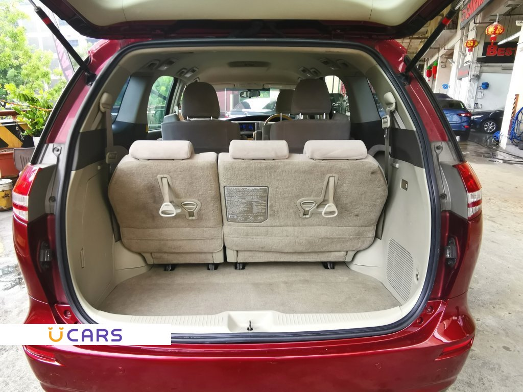 used toyota previa 2.4a (coe till 06/2021) for sale in